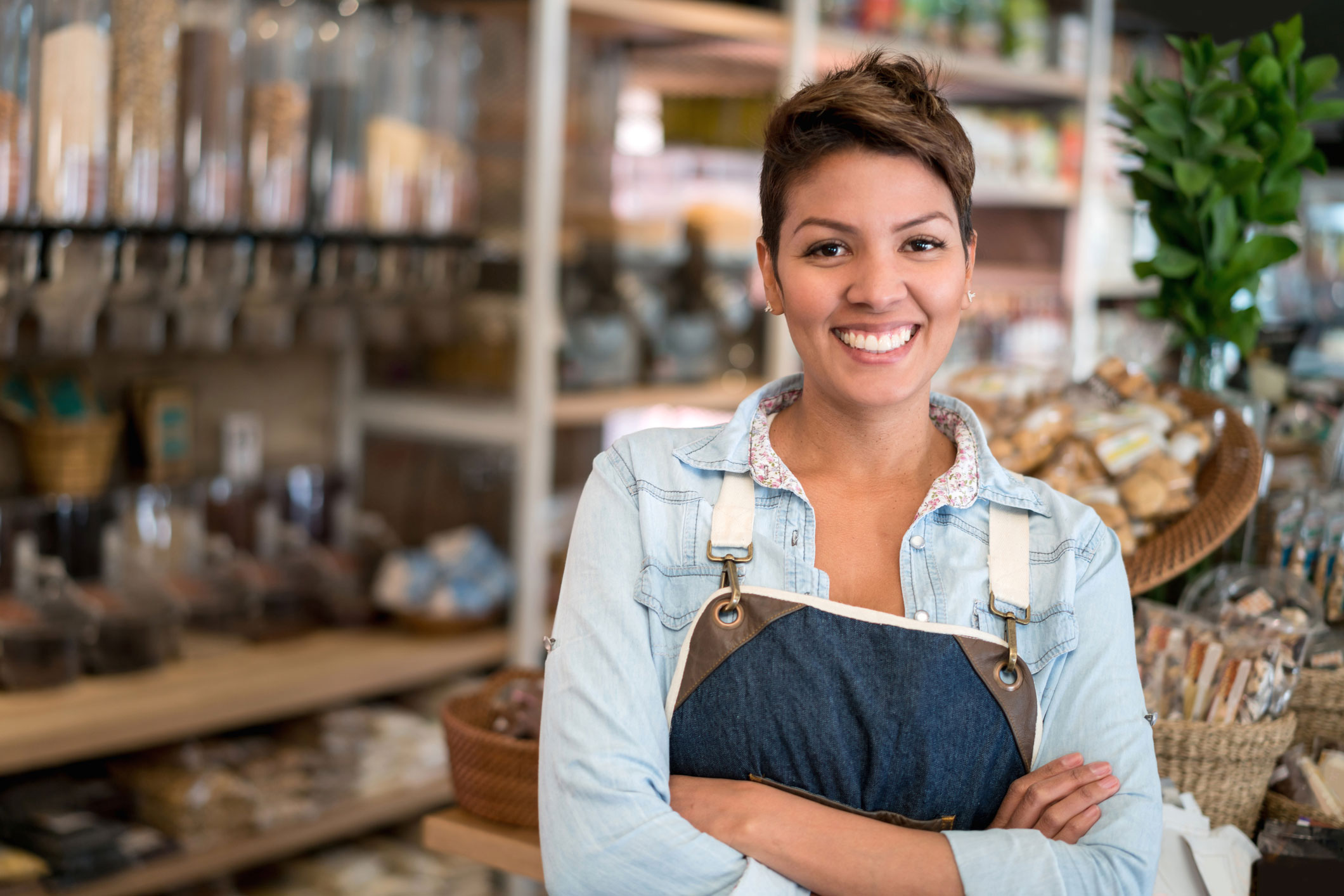 Photo of a small business owner